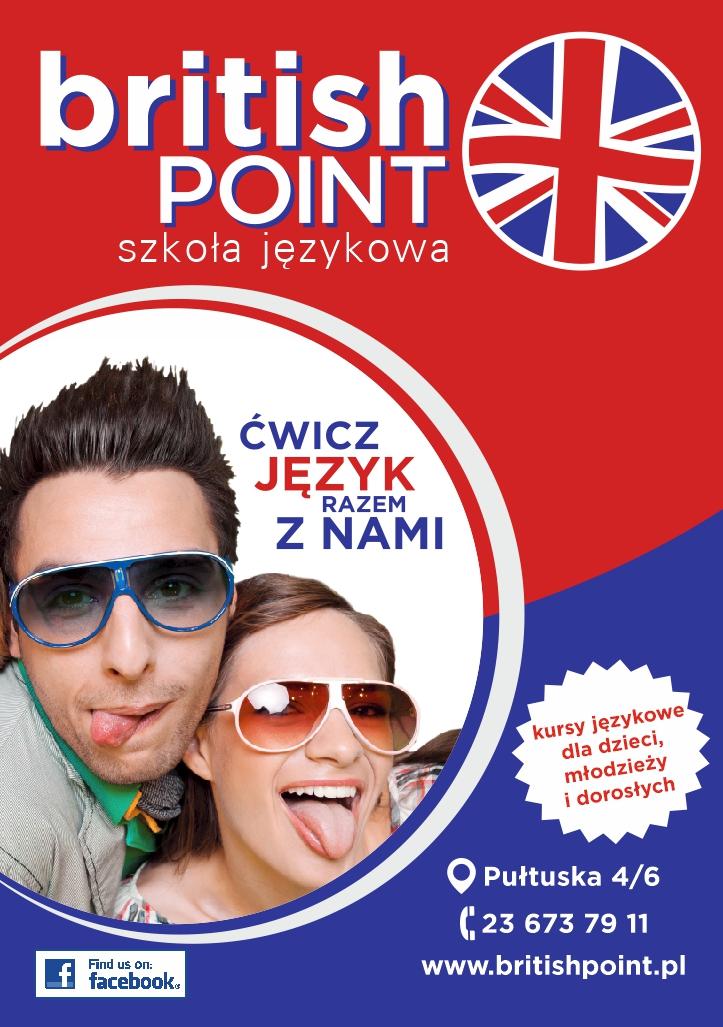 Plakat2 Britishpoint Twoja Szkoła Językowa